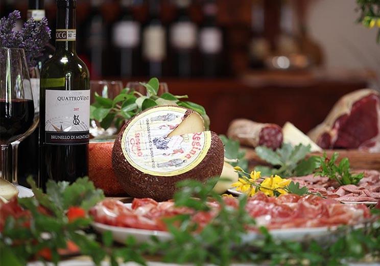 Degustazioni Brunello Montalcino Corte dei Venti